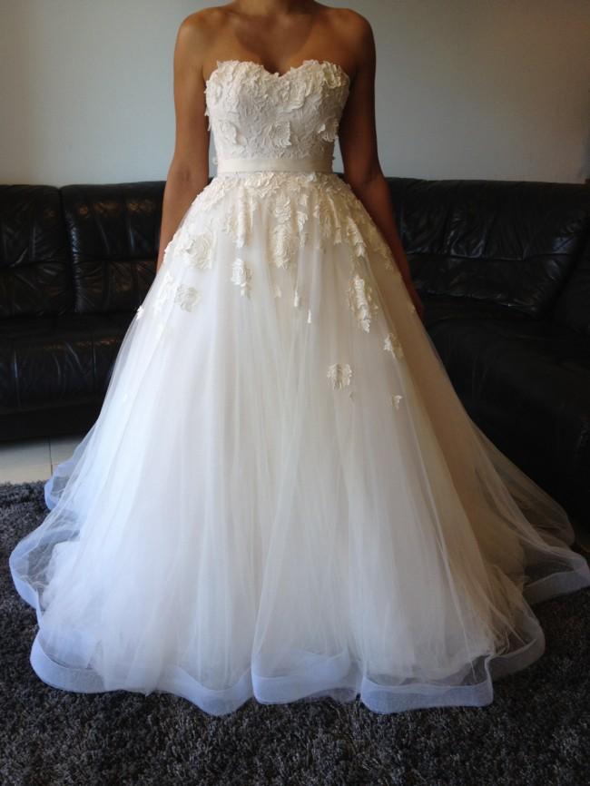 Steven khalil used wedding dress on sale 55 off for Steven khalil wedding dresses cost