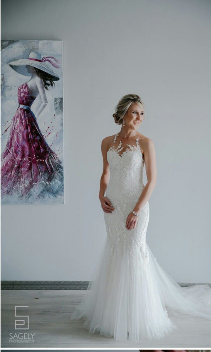 Enzoani Kalani PreOwned Wedding Dress on Sale 50% Off