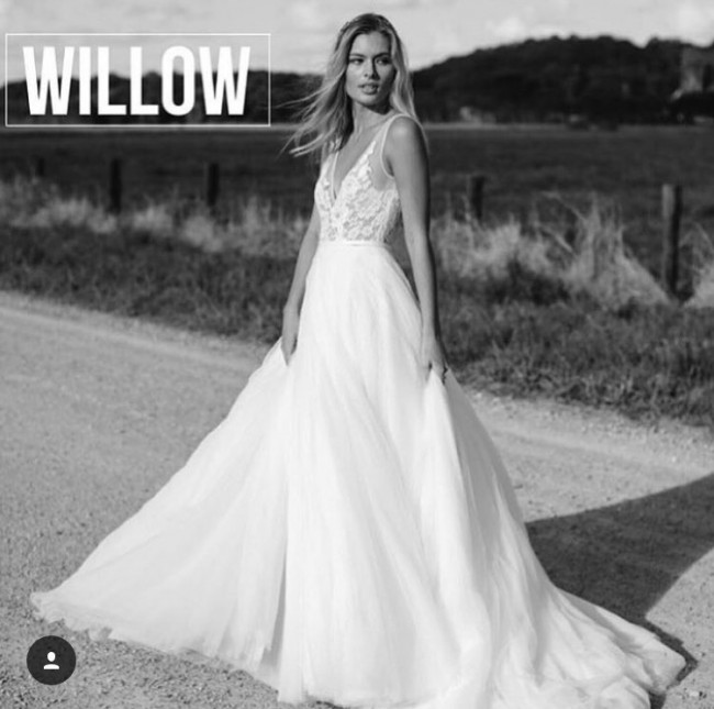 Made With Love Willow New Wedding Dress on Sale 23% Off