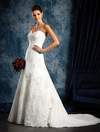 Alfred angelo style 801 sample wedding dresses stillwhite for D angelo wedding dresses