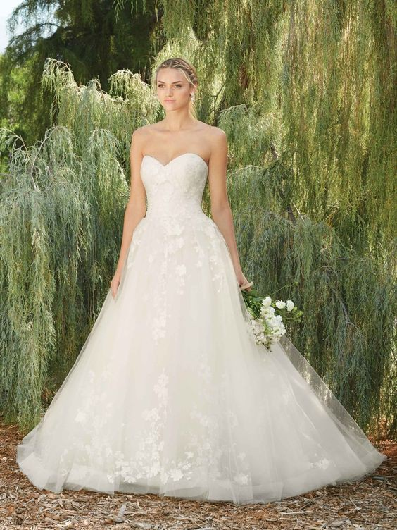 Casablanca Bridal 2267 Morning Glory Used Wedding Dress On Sale 72