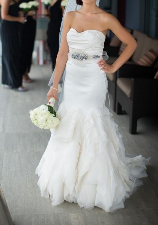 Vera wang ethel second hand wedding dress on sale 43 off for Second hand vera wang wedding dress