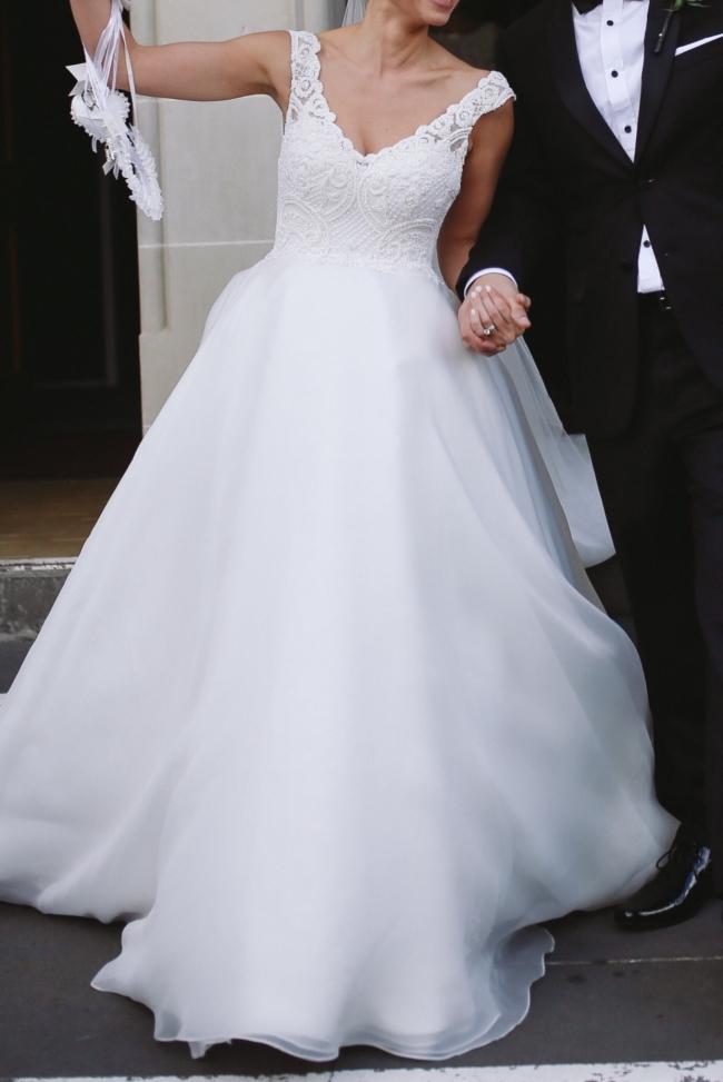 Jaton Ball Gown Wedding Dress On Sale