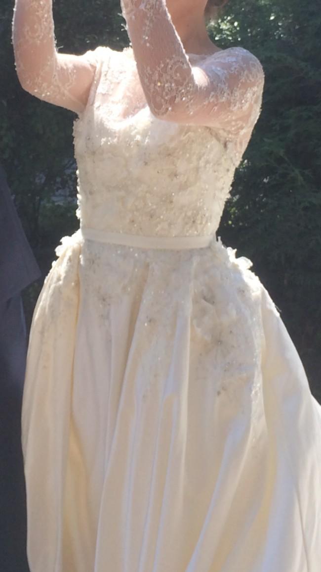 Elie Saab MONET by Pronovias Used Wedding Dress on Sale 70% Off ...