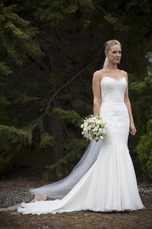 Mariana Hardwick Custom Made - Amity Dress PreOwned Wedding Dress on ...