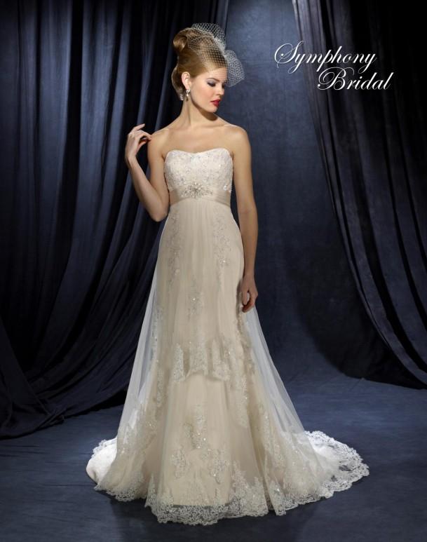 Symphony Bridal, A-Line