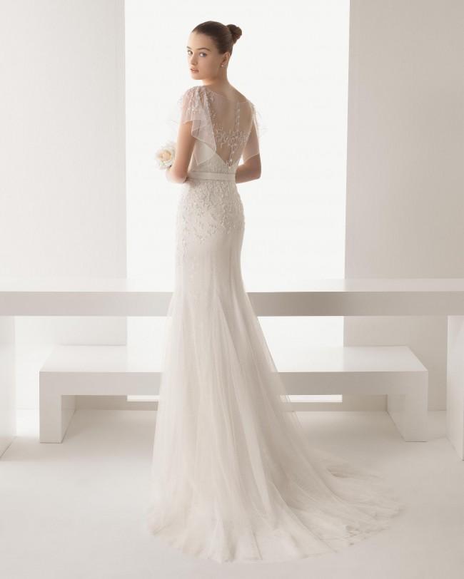 Rosa clara idoia sample wedding dress on sale 57 off for Sample wedding dresses chicago