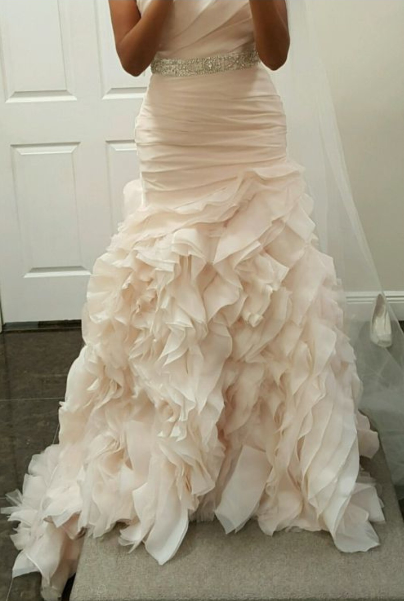 Maggie sottero preowned wedding dress on sale for Used wedding dresses miami