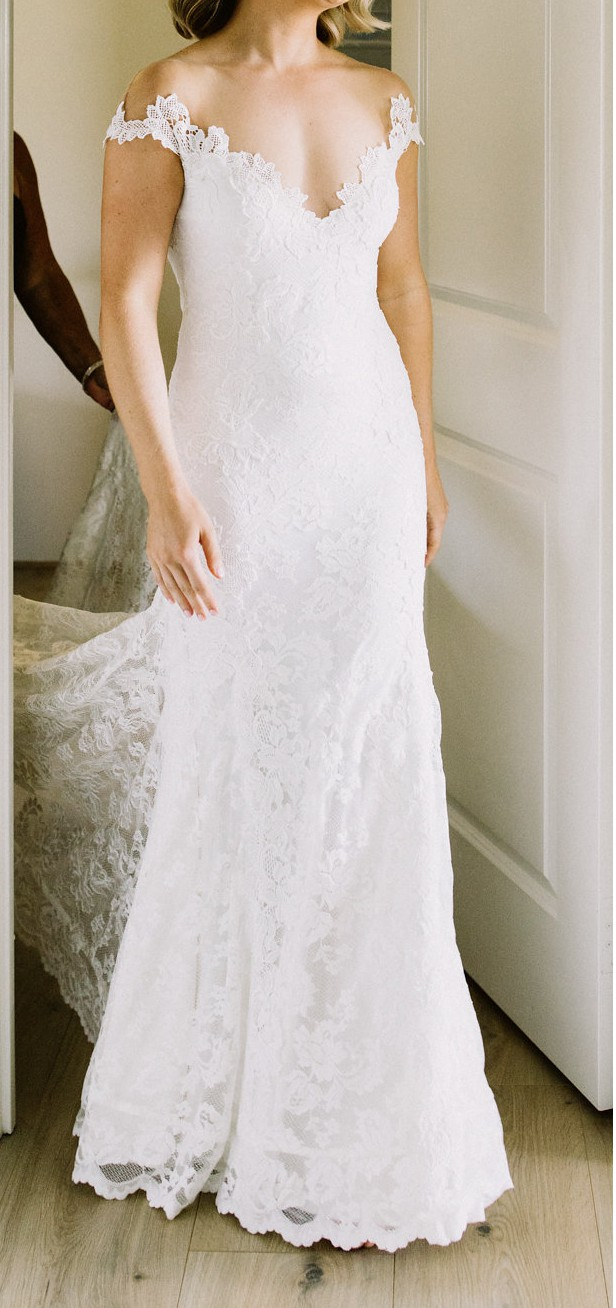 Olvi\'s O\'Hara Pre-Owned Wedding Dress on Sale 44% Off