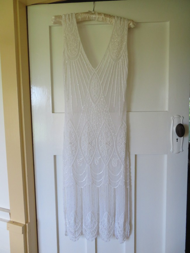 LeLuxe Clothing, The Vamp Ivory Crystal