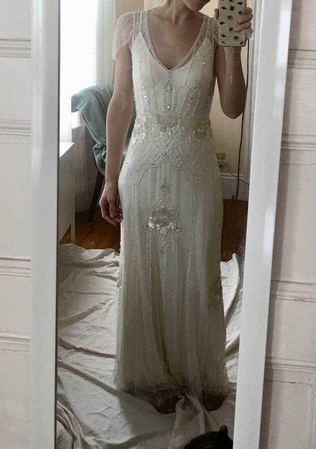Jenny Packham Eden Second Hand Wedding Dress on Sale 64% Off ...