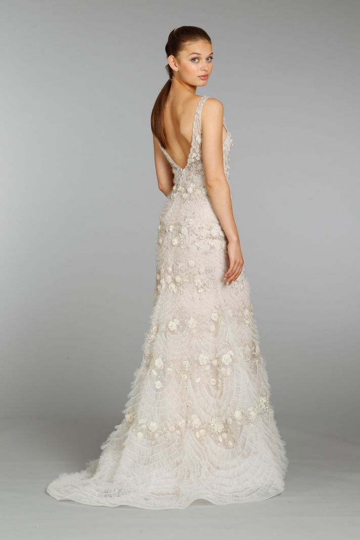 lazaro pre owned wedding dress on sale 59 off