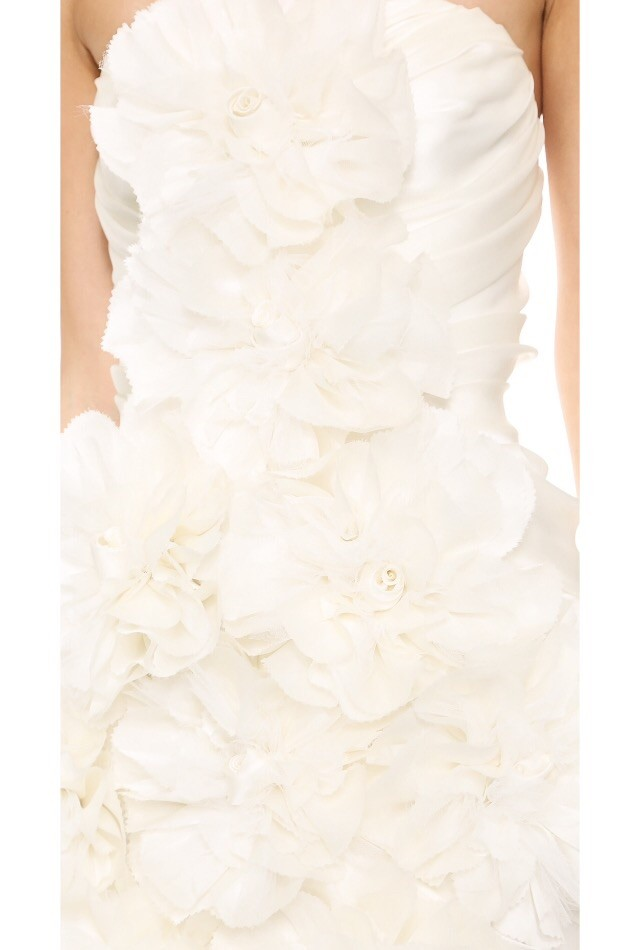 Marchesa peony dress second hand wedding dress on sale 74 off for Marchesa wedding dress sale