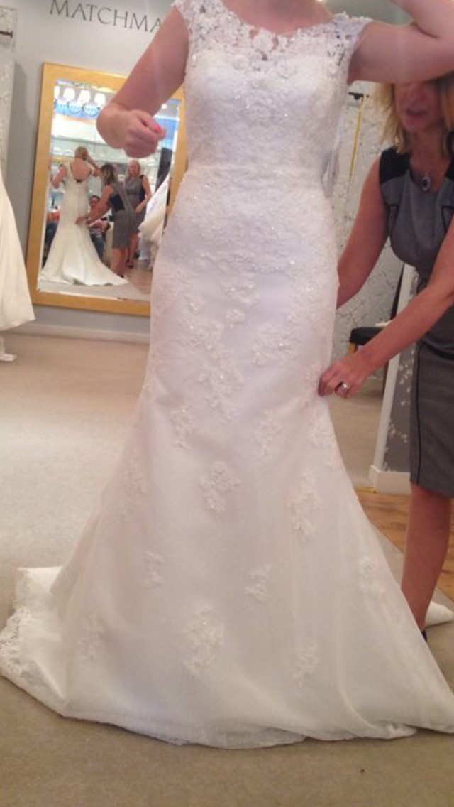 Mermaid Wedding Dresses Kent : Pronovias botis wedding dress on sale off