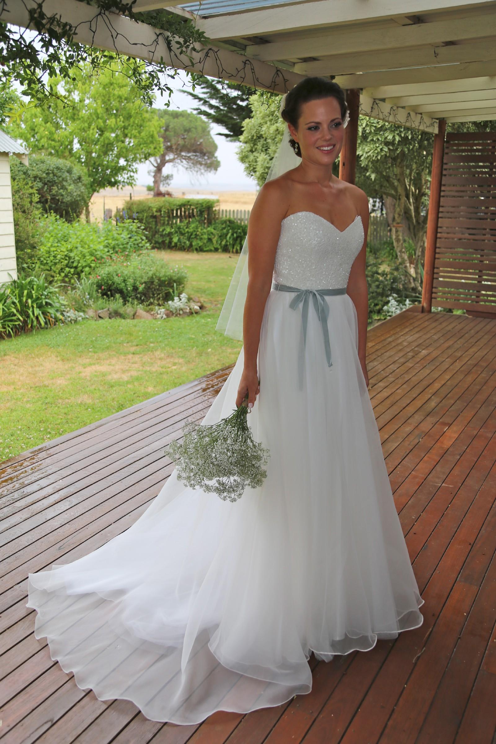 Karen Willis Holmes Paige Second-Hand Wedding Dress on Sale 63% Off