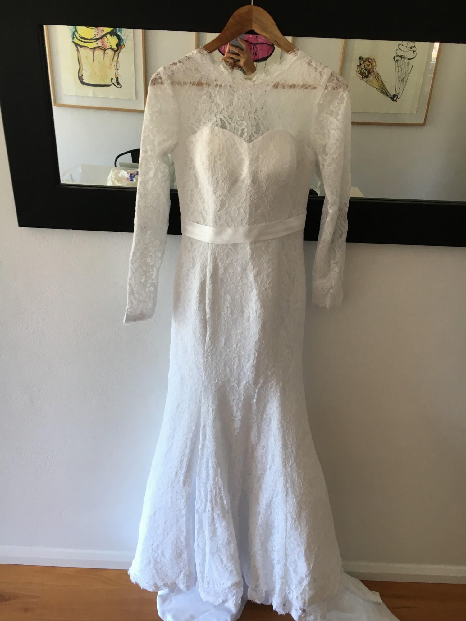 Sheath New Wedding Dress on Sale 88% Off