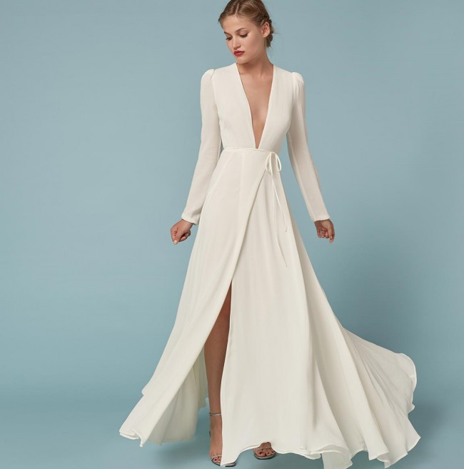 reformation wedding dress reformation thea dress new wedding dress on stillwhite 7054