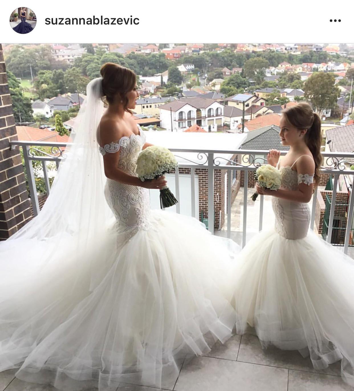 Suzanna blazevic custom made preowned wedding dress on sale for Suzanna blazevic wedding dresses