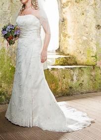 Wedding dress d1158