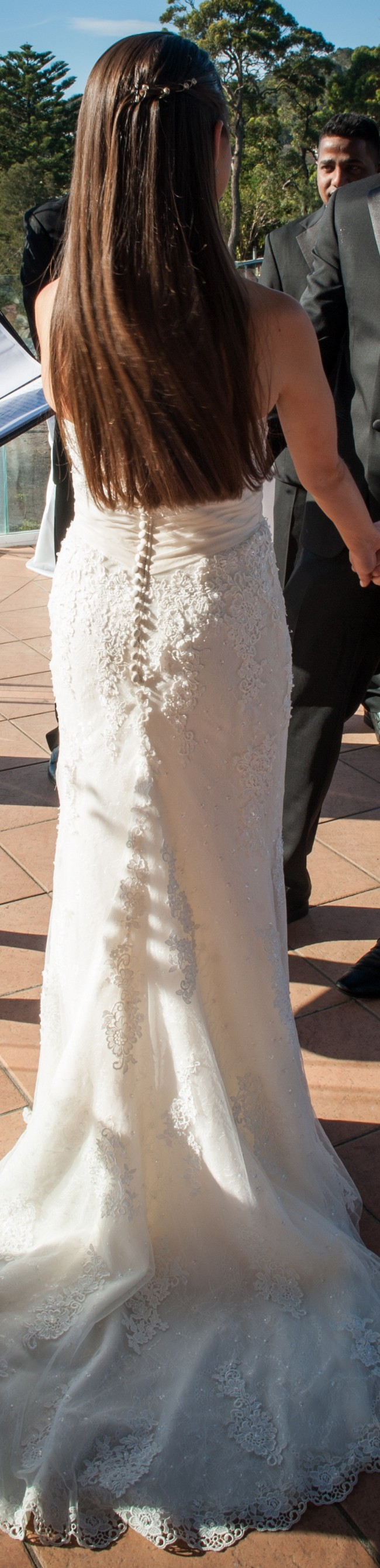 Madeline gardner mori lee second hand wedding dress on for Second hand mori lee wedding dresses
