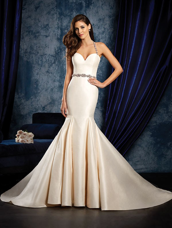 Alfred angelo 965 preowned wedding dress on sale 50 off junglespirit Image collections