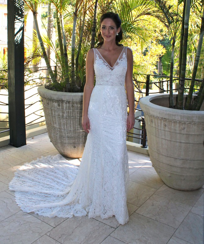 Made With Love Frankie Used Wedding Dress On Sale 50% Off