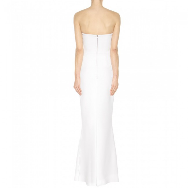 Victoria Beckham White Crepe Dress New Wedding Dress On