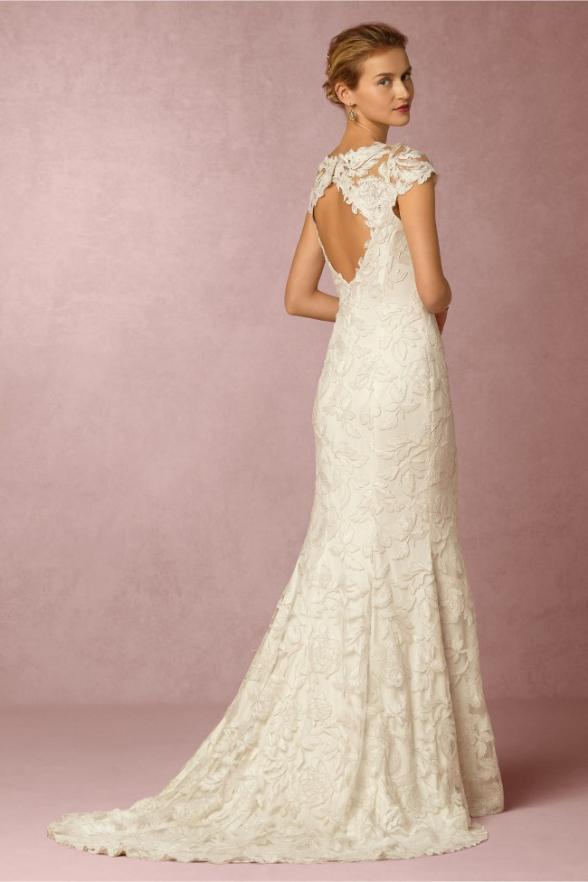 BHLDN Elinor Gown by Tadashi Shoji New Wedding Dress on Sale 71% Off