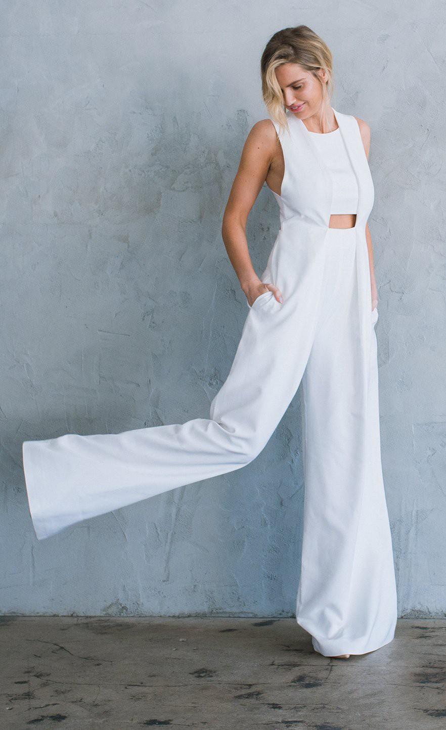 Daring Menswear Inspired Bridal Styles