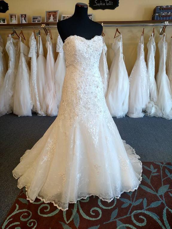 David Tutera Gia 115232 - New Wedding Dresses - Stillwhite