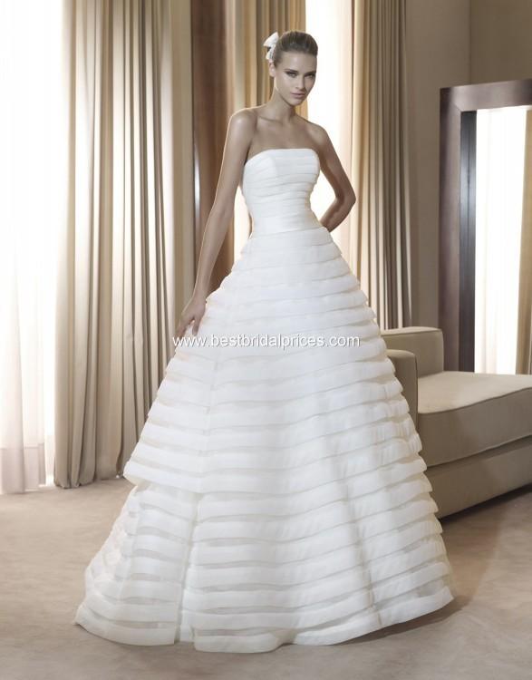 Wedding Dresses  France : Pronovias france wedding dress on sale off