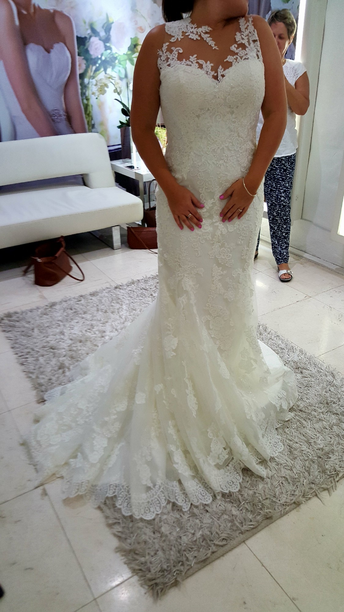 San patrick zaneta wedding dress on sale for Sell wedding dress san diego