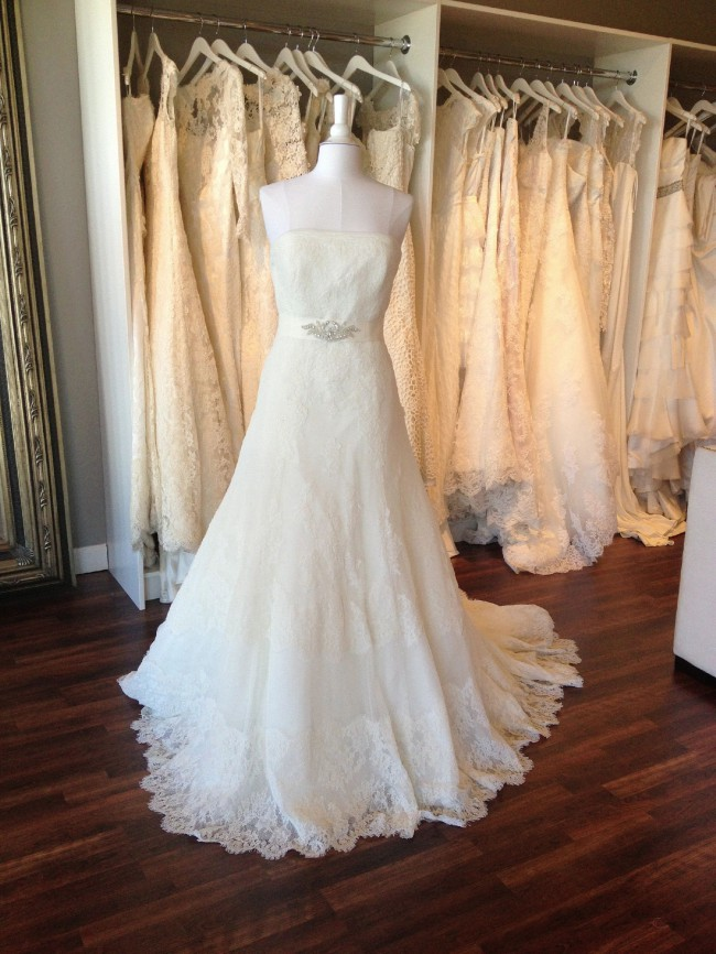 La Sposa Maxim Sample Wedding Dress on Sale 63% Off ...