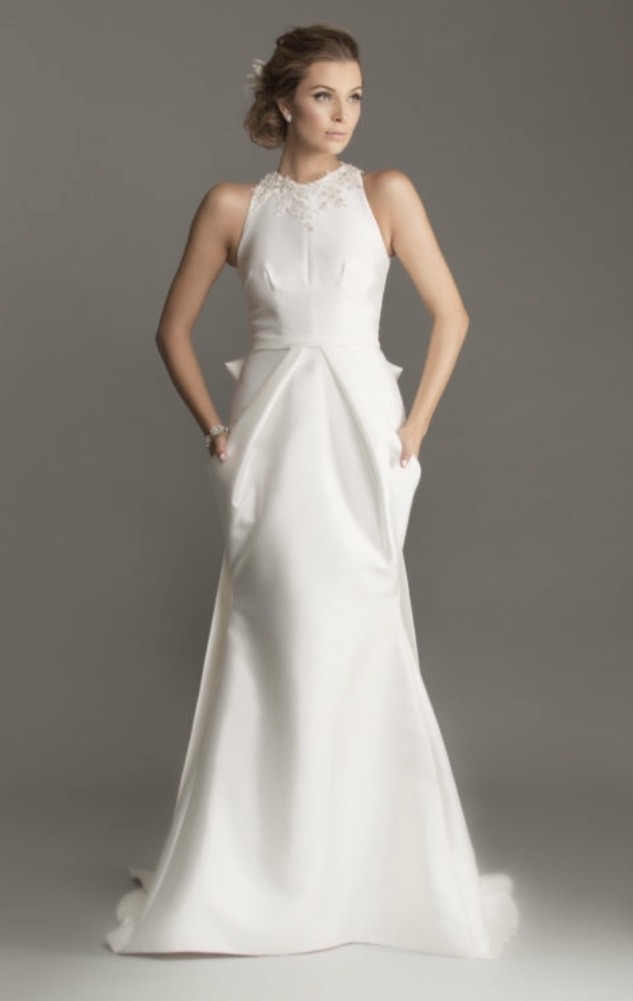 Caleche Bridal House, Origami Dress, Magnolia Collection