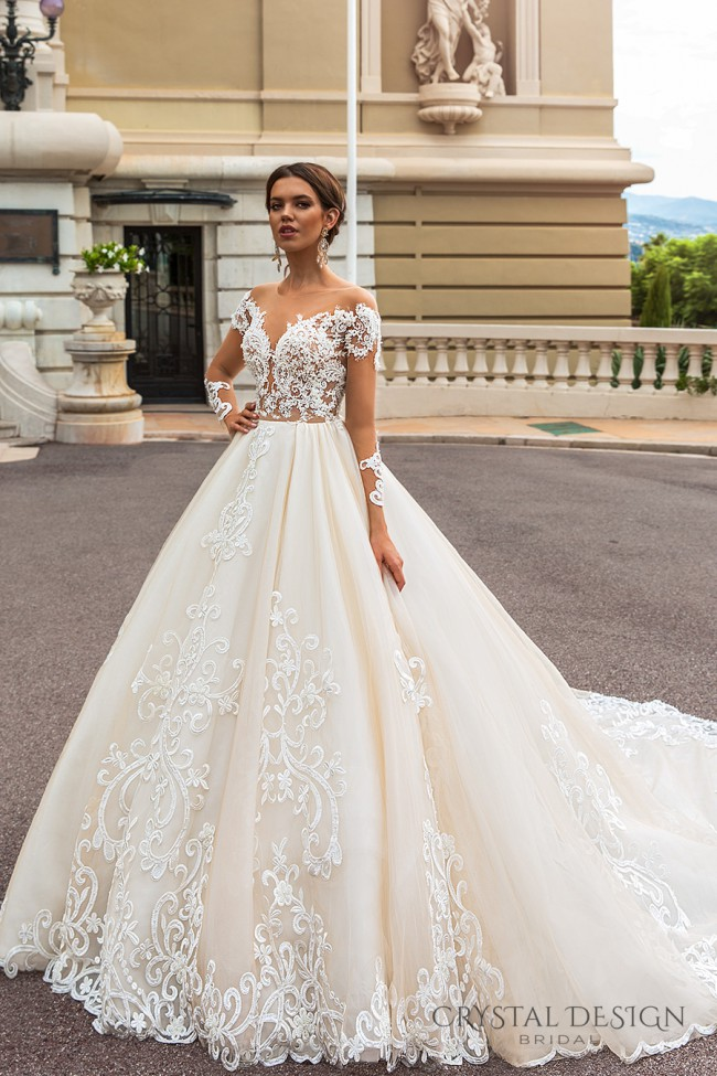 Crystal design ellery used wedding dresses stillwhite for Crystal design wedding dresses price