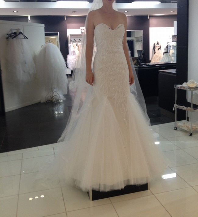 Strictly Bridal Ann Wilson Couture New Wedding Dress On