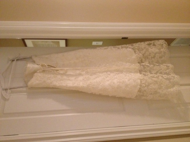 Alfred Angelo 1774n Used Wedding Dress On Sale 44% Off