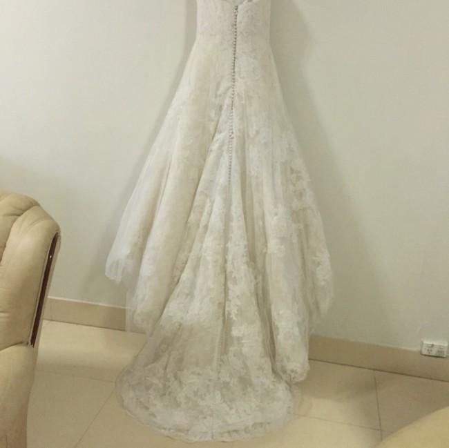 Vera wang esther second hand wedding dress on sale 52 off for Second hand vera wang wedding dress