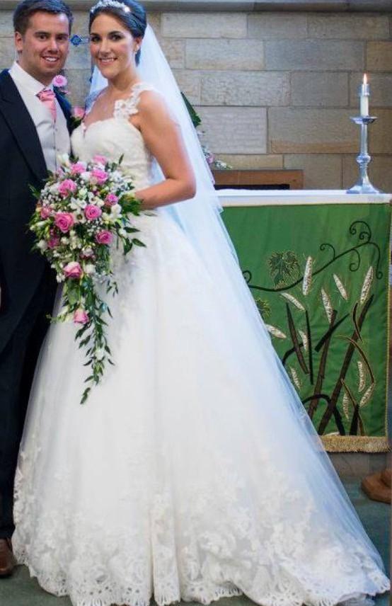 Allure Romance 2701 Used Wedding Dress on Sale 57% Off