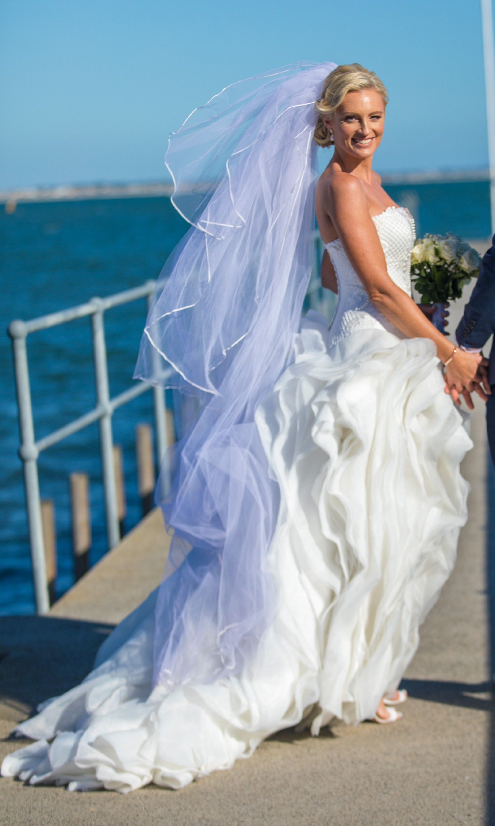 Ball Gown Pre-Owned Wedding Dress on Sale 79% Off