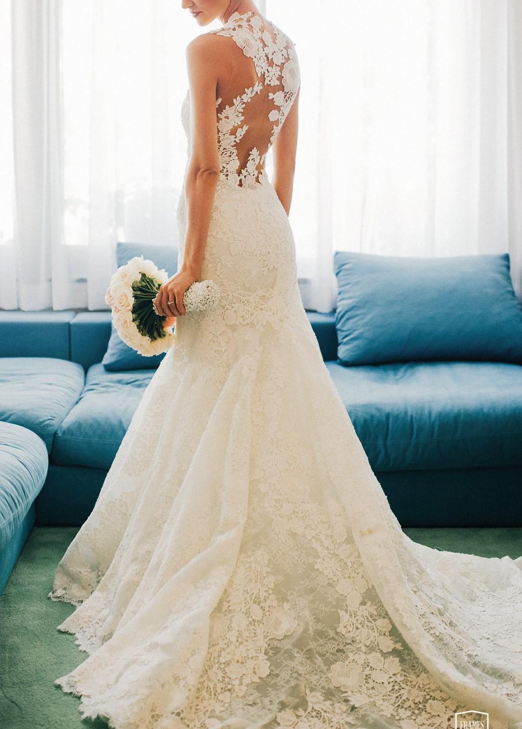 Pronovias Carezza Second Hand Wedding Dress On Sale 45