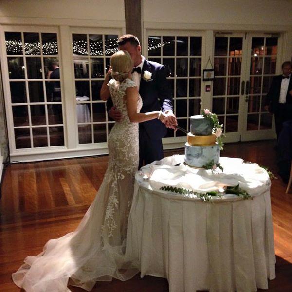 Paolo Sebastian Custom Made Wedding Dress on Sale 53% Off