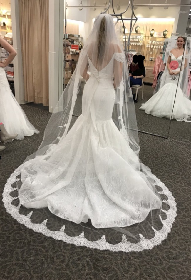 Truly Zac Posen New Wedding Dress on Sale 52% Off