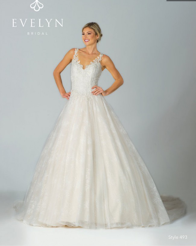 Evelyn 493 New Wedding Dress on Sale 36% Off