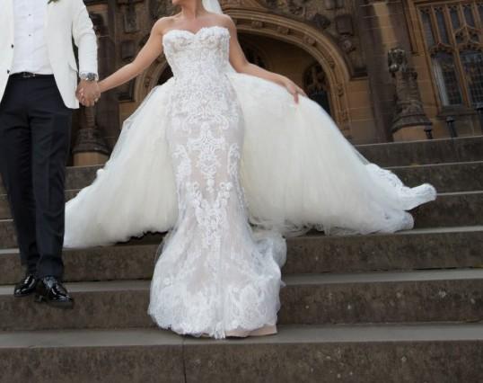 60f480bf160b Steven Khalil Custom Made - Second Hand Wedding Dresses - Stillwhite