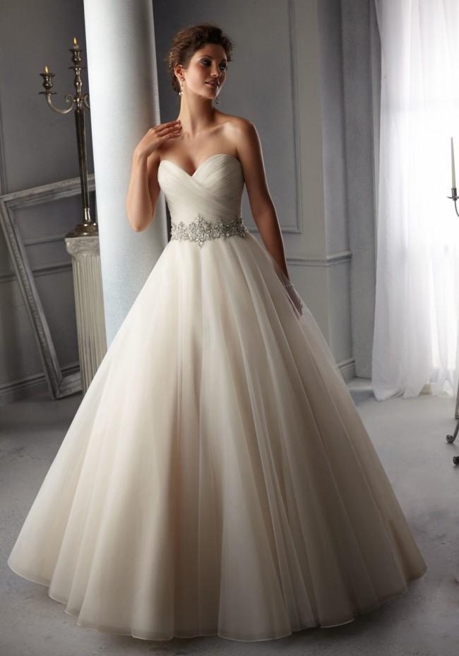 Mori Lee, 5276, Size 0 Wedding Dress