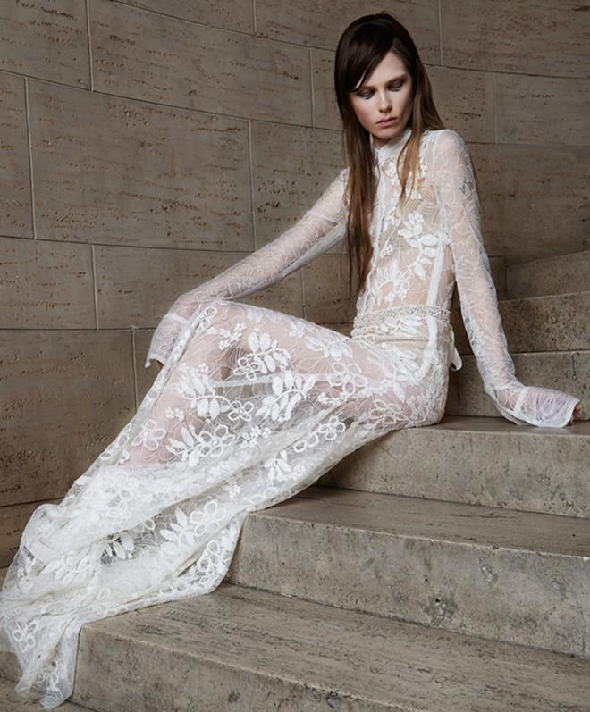 50 beautiful long sleeve wedding dresses for Rock n roll wedding dress
