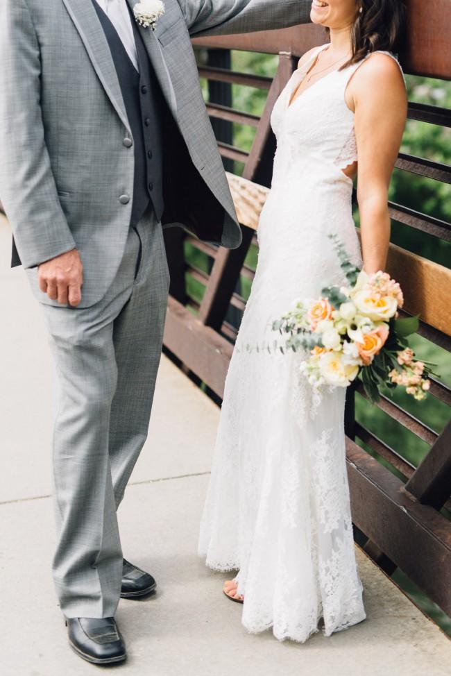 Galina Signature, Floral Lace Wedding Dress