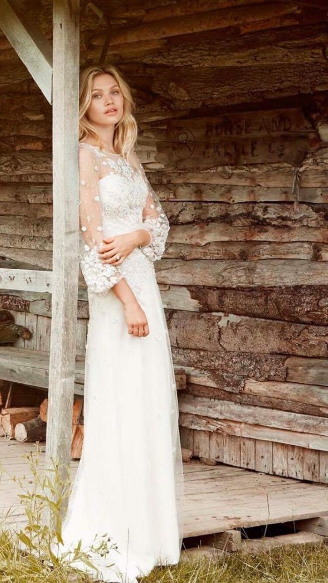Jenny Packham Apache Used Wedding Dress On Sale 38 Off Stillwhite