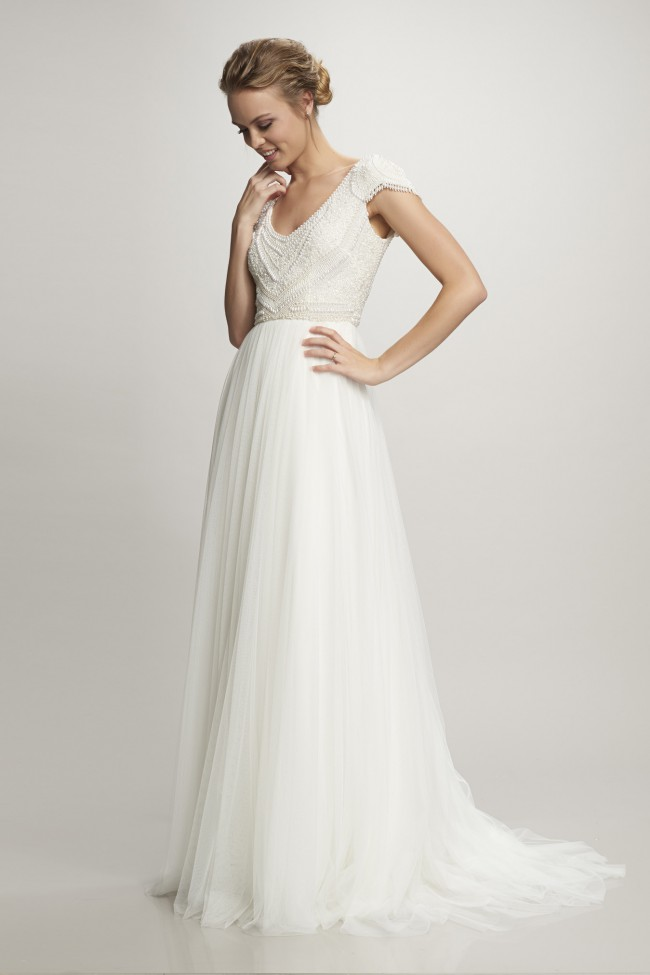 Theia Couture Nima Sample Wedding Dress On Sale 56 Off